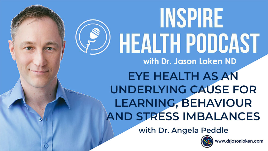 Episode 7: Eye health as an underlying cause for learning, behaviour and stress imbalances with Dr. Angela Peddle, OD, FCOVD, Optometrist