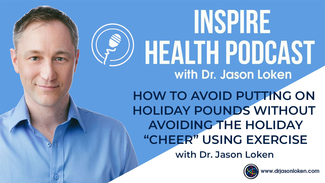 """Episode 16: How To Avoid Putting On Holiday Pounds Without Avoiding The Holiday """"Cheer"""" Using Exercise"""