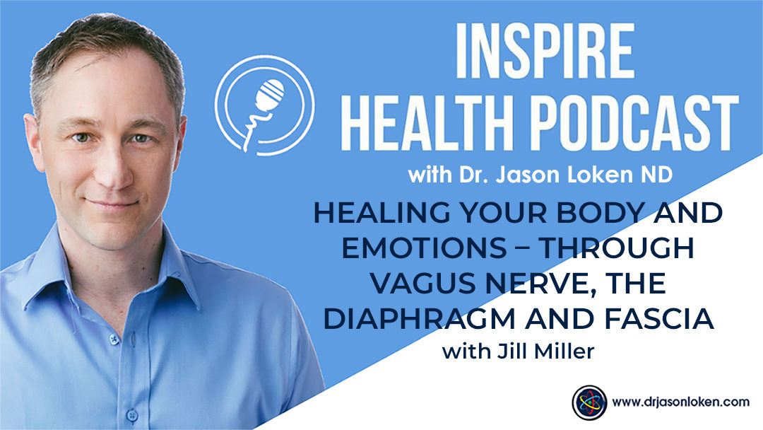 Episode 21: Healing Your Body and Emotions – Through Vagus Nerve, the Diaphragm and Fascia with Jill Miller