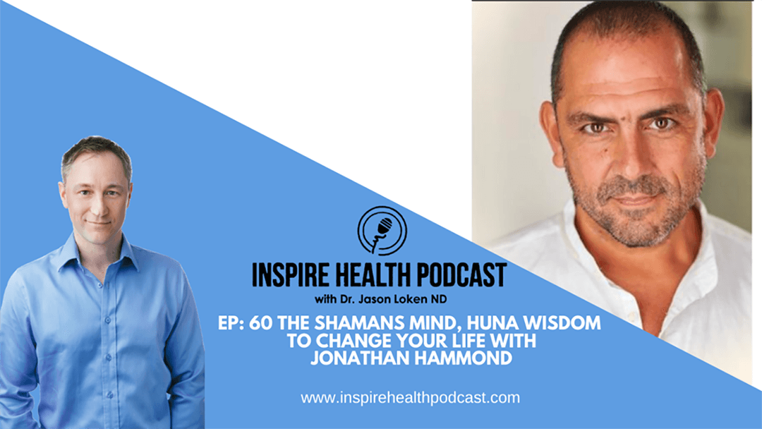 Episode 60: The Shamans Mind – Huna Wisdom To Change Your Life with Jonathan Hammond