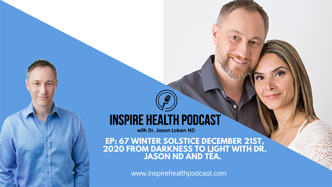 Episode 67: Winter Solstice December 21st 2020 From Darkness To Light with Dr. Jason ND and Téa