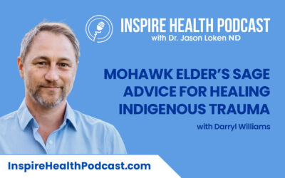 Episode 93: Mohawk Elder's Sage Advice For healing Indigenous Trauma with Darryl Williams