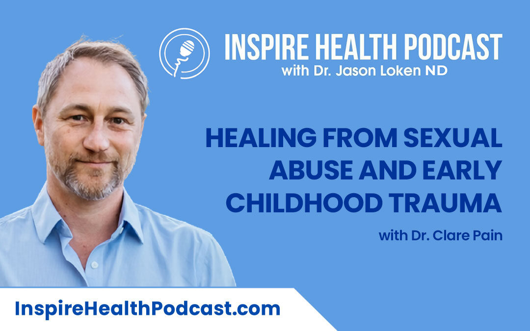 Episode 97: Healing From Sexual abuse and Early Childhood Trauma with Dr. Clare Pain