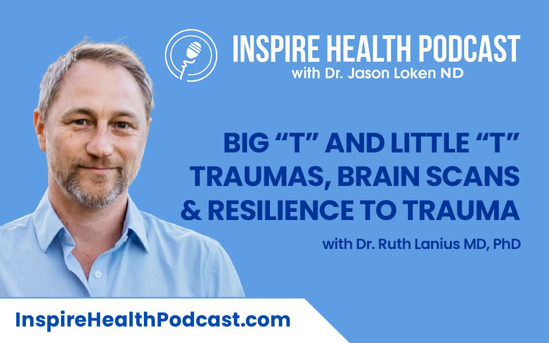 """Episode 98: Big """"T"""" and Little """"t"""" Traumas, Brain Scans & Resilience to Trauma with Dr. Ruth Lanius MD, PhD"""